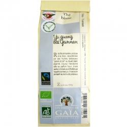 Thé blanc Yu guang bai Yunnan Jardins de Gaïa 50g