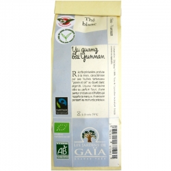 Thé blanc bio Yu guang bai Yunnan Jardins de Gaïa 50 g