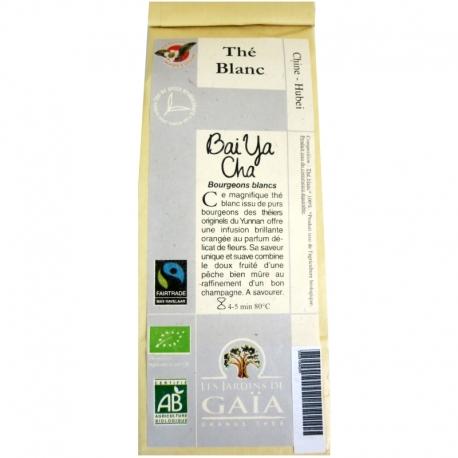 Thé blanc bio Bai Ya Cha Jardins de Gaïa 50 g v1