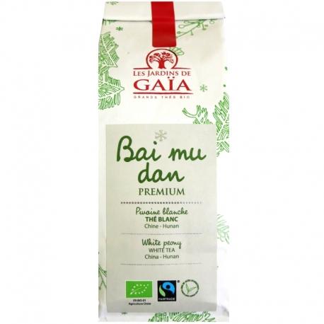 Thé blanc bio Bai Mu Dan Premium Jardins de Gaïa 50 g v1