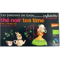 Infusettes thé noir Tea time Jardins de Gaïa