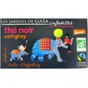 Infusettes thé noir Earl grey Jardins de Gaïa