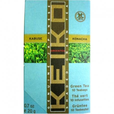 Infusettes de thé vert Keiko Kabuse Konacha
