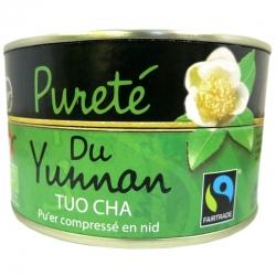 Thé vert Pureté du Yunnan Tuo Cha Pu'er Jardins de Gaïa