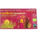 Thé rouge bio Rooibos Honeybush Jardins de Gaïa 20 infusettes