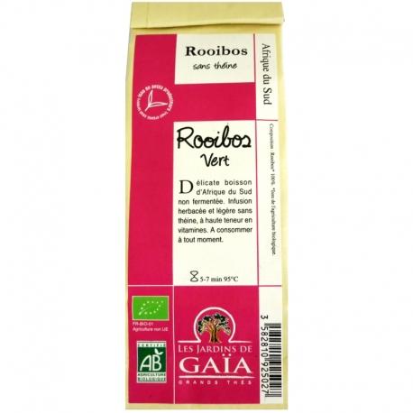Thé rouge bio Rooibos Vert Jardins de Gaïa 100 g v1