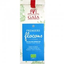 Thé oolong ou wu long bio Premiers Flocons Jardins de Gaïa 70 g v1