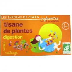 Infusettes tisane Digestion Jardins de Gaïa