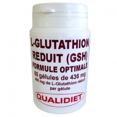 L-Glutathion réduit Qualidiet 60 gélules v1
